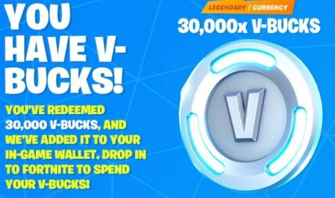 Free V Bucks Codes Nintendo Switch Fortnite 2fa