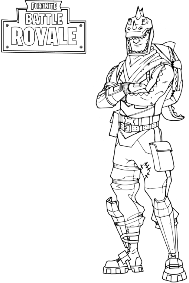 All Fortnite Skins Coloring Pages 3