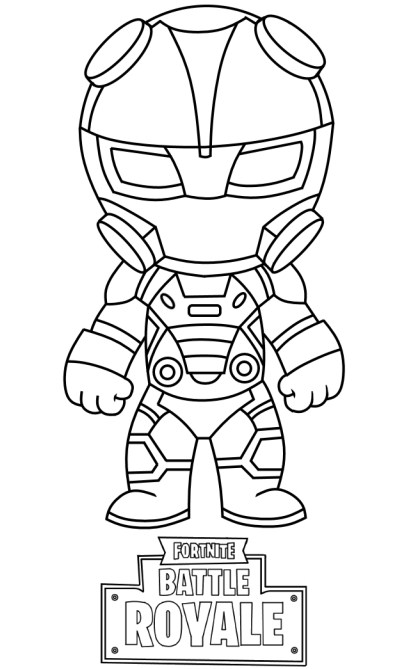 Fortnite Coloring Pages Ninja Character