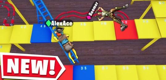Creative Games In Fortnite Fortnite Creative Board Game Code Shoots And Ladders Fortnite News