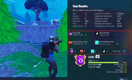 What's Drake's Fortnite Gamertag How To See Check How Many Kills You Have In Fortnite Fortnite News
