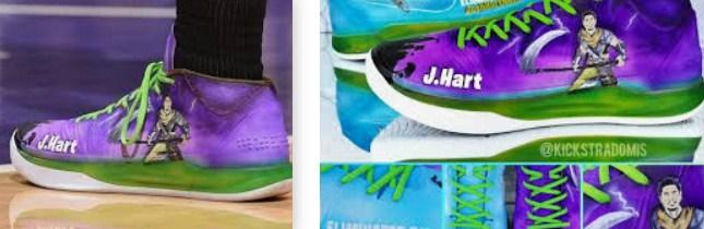 Which LA Laker Wore Fortnite Shoes
