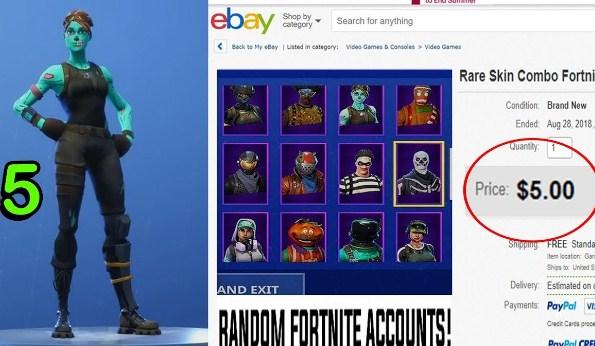 Buy Fortnite Accounts 5 Dollars | Fortnite 2FA