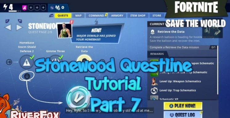 You Must Know About Main Stonewood Quests On Fortnite Fortnite News Players will automatically acquire daily quests every day with a limit of 1 per day. main stonewood quests