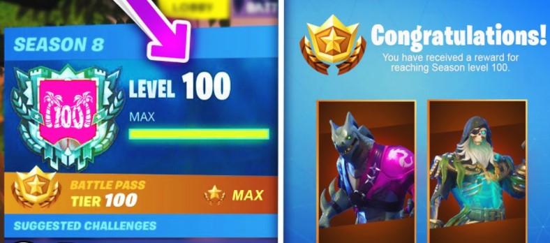 Reach Battle Pass Level 100