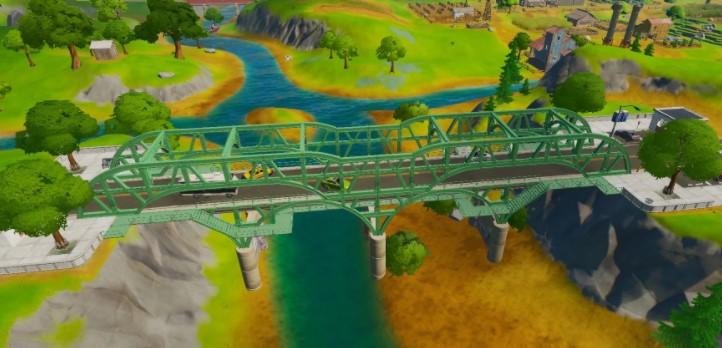 The Green Steel Bridge