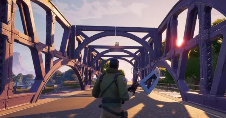 The Purple Steel Bridge