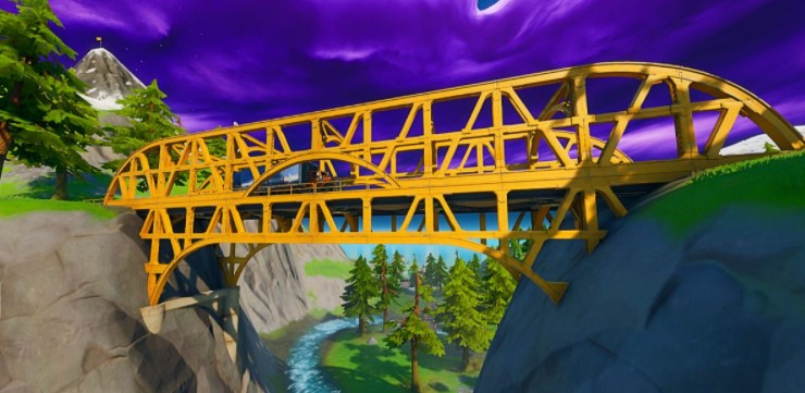 The Yellow Steel Bridge