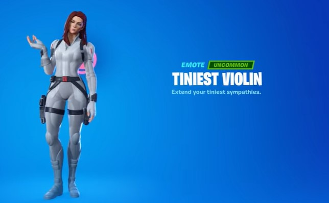 Tiniest Violin Emote
