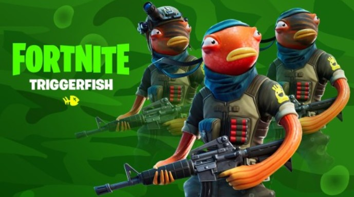 Triggerfish skin in Fortnite