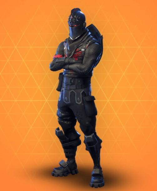 Black Knight Skin Fortnite