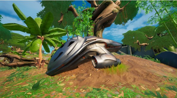Find the Mysterious Pod in the Fortnite island