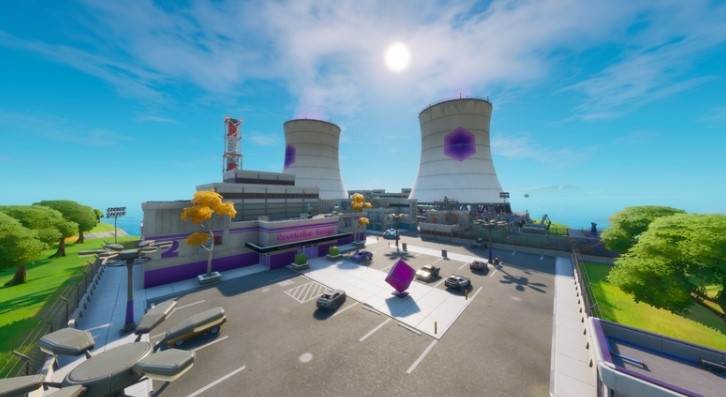 Fortnite Nuclear Power Plant