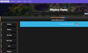 mission finder database